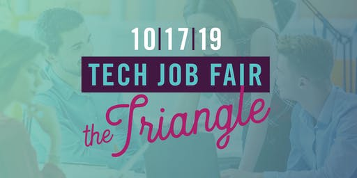 NC TECH's Job Fair in the Triangle (October 2019)
