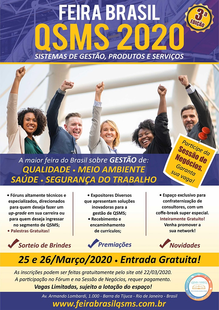 Imagem do evento Feira Brasil QSMS - 2021