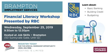 Financial Literacy Workshop - Presented by RBC tickets