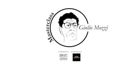 Masterclass di Scrittura con Giulio Mozzi biglietti
