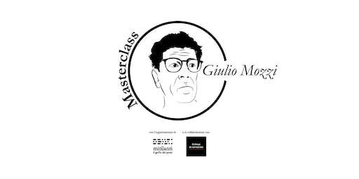 Masterclass di Scrittura con Giulio Mozzi