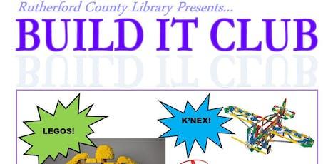 Haynes Branch Library Build It Club tickets