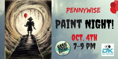 Pennywise Paint Night at Dk Play!