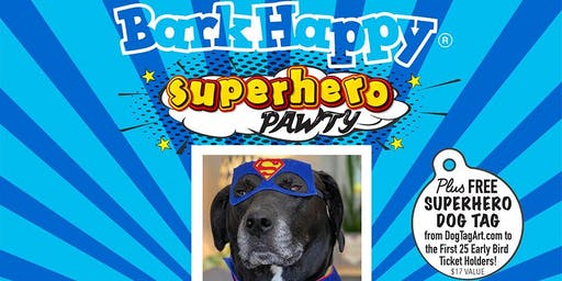 BarkHappy Boston:Superhero Pawty Benefiting Missing Dogs Massachusetts