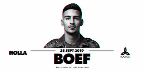 HOLLA | 28/09 | BOEF Tickets