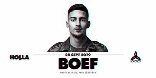 HOLLA | 28/09 | BOEF
