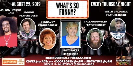 What's So Funny Comedy Show