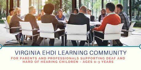 Hampton Roads Virginia EHDI Learning Community - October Meeting  tickets