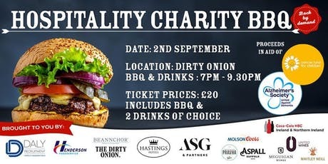 Hospitality Charity BBQ tickets