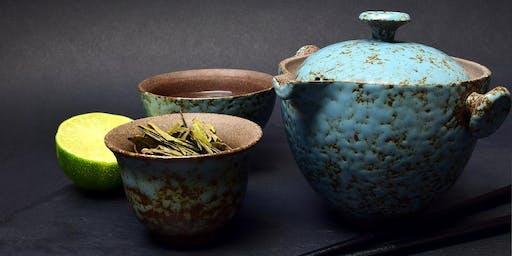 Eröffnung des japanischen Teehauses mit Zengarten
