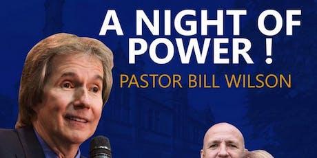 Pastor Bill Wilson tickets