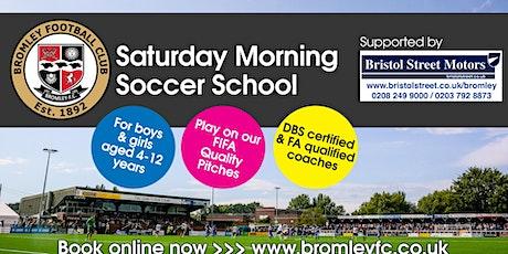 Saturday Morning Soccer School: September-December tickets