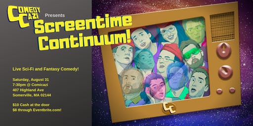 ComedyCazi: Screentime Continuum!