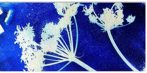 Creating Botanical prints- a cyanotype workshop