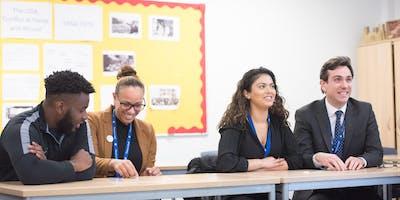 Teacher Training Information Event - Secondary Tea