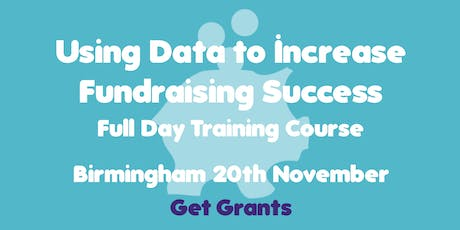 Using Data to Increase Fundraising Success Training Course tickets