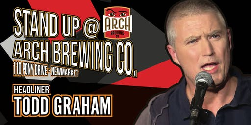 Black Sheep Comedy's Stand Up @ Arch Brewing Co., September Edition
