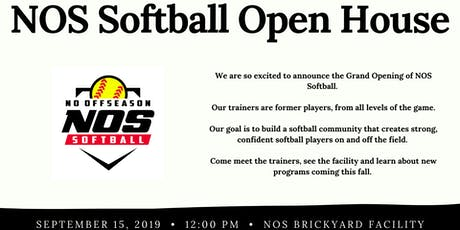 NOS Softball Open House tickets