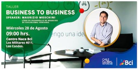 Taller de ventas: Business to Business tickets
