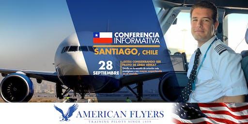 Conferencia Informativa de American Flyers en SANTIAGO, CHILE