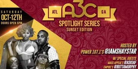"""A3C Spotlight Series """"Sunset Edition"""" w HipHopWeekly, Mass Appeal, EMPIRE + tickets"""