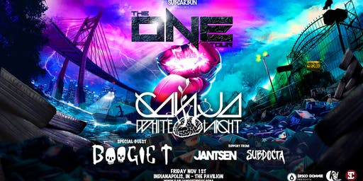 Ganja White Night w/ Boogie T, Jantsen & SubDocta - The One Tour- Indianapolis