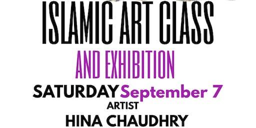 Islamic Art Class with Artist Hina Chaudhry, Houston