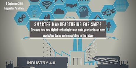 Smarter Manufacturing for SME's tickets