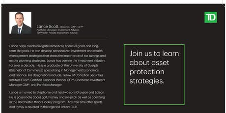 Join us to learn about asset protection strategies tickets
