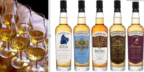 Exclusive Paired Showcase Dinner with Compass Box Whisky tickets