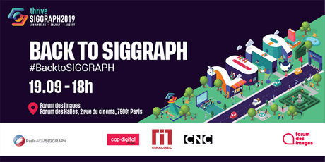 Back to SIGGRAPH 2019 billets