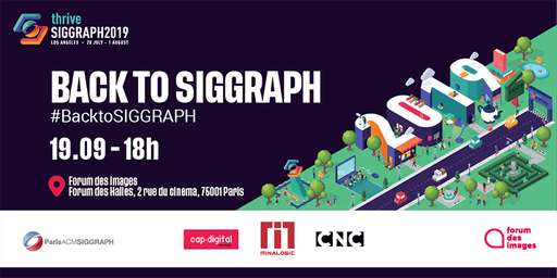 Back to SIGGRAPH 2019