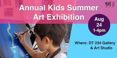 ANNUAL KIDS SUMMER ART EXHIBITION