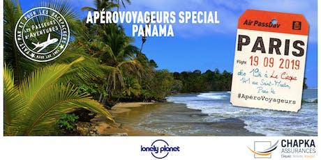 ApéroVoyageurs de rentrée à Paris - Spécial Panama billets