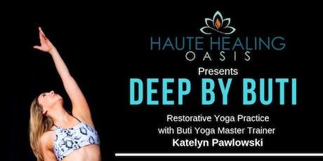 Restorative Yoga with Katelyn Pawlowski tickets