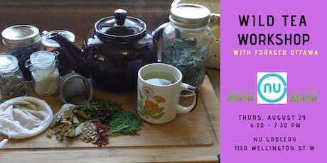 Wild Herbal Tea Workshop tickets