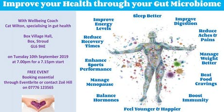 Improve Your Health Through Your Gut Microbiome tickets