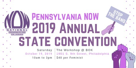 PA NOW 2019 State Convention tickets