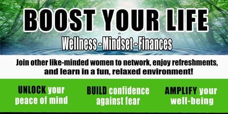 Boost Your Life tickets