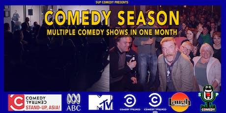 Frankfurt Comedy Season Tickets