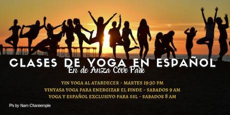 Yoga en Español en la Bahia  tickets