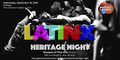 Latinx Heritage  Night at the MFA
