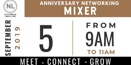 ANNIVERSARY NETWORKING MIXER tickets