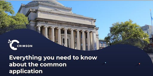 Everything you need to know about the common application!