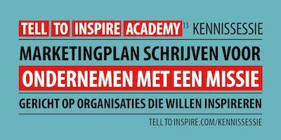 Kennisessie | Marketingplan schrijven voor ondernemen met een missie
