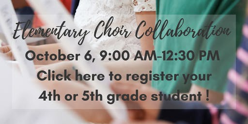 2019 Elementary School Choir Collaboration