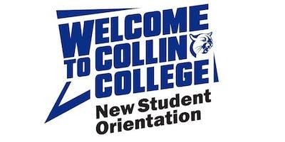 Collin College New Student Orientation- Frisco Campus-2019-2020