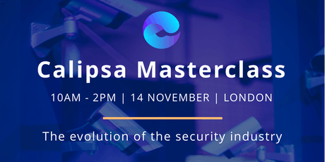 Calipsa Masterclass: The Evolution of the Security Industry tickets