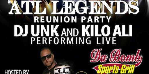 Dj UNK & Kilo Ali live @dabomb lithonia