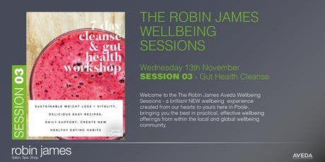 New Robin James Autumn Wellness Event - SESSION 03 - Gut Health Cleanse tickets